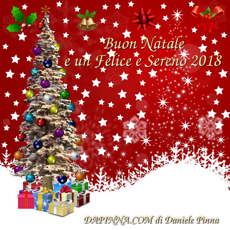 Immagini Felice Natale.Auguri Di Buon Natale E Un Felice E Sereno 2018 Dapinna