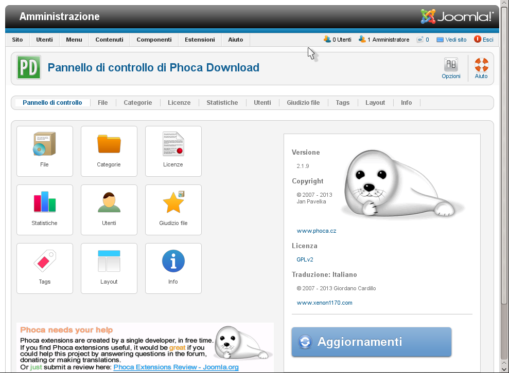 CPanel Phoca Download